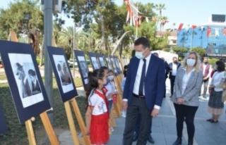 Alanya'da 'Atatürk Çocukları' konulu sergi...