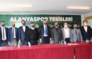 Alanyaspor'un yeni tesisinin sunumu yapıldı