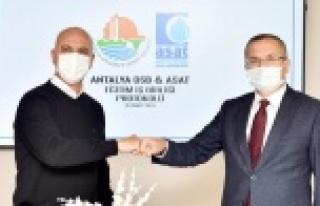 Antalya OSB eğitimleri sınırlarını aştı