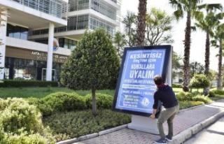 Antalya OSB'de 'Mavi OSB Mavi Antalya' hareketi...
