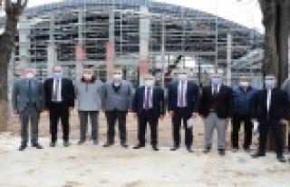 Başkan Böcek Karaalioğlu Kent Yaşam Parkı Projesi'ni...