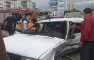 Göz göre göre gelen kazada faciadan dönüldü:...