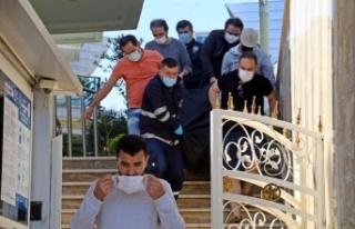 İranlı sanal para brokeri apart oteldeki odasında...