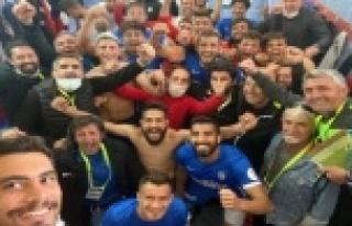 Kestelspor 7 hafta sonra kazandı