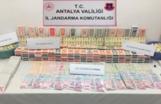 Kıraathanede kumar oynayan 16 kişiye 76 bin TL para...