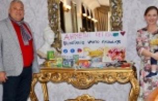 Litvan ailelerden Ahmet bebek için kermes