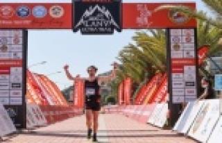 Merrell Alanya Ultra Trail'de ilk birinciler...