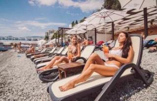 Rusya Kırım'da Antalya benzeri tatil beldesi...