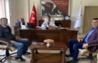Türkdoğan ve Terzi'den Başhekim Çelik'e...