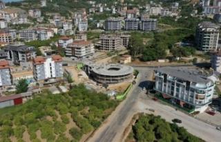 Alanya Belediyesi Kreş ve Gündüz Bakımevi inşaatında...