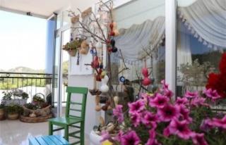 Alanya'nın en güzel balkon ve en güzel bahçesi...