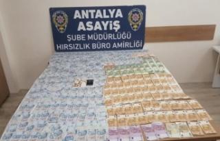 Antalya'da girdiği evden vurgun yapan şüpheli...