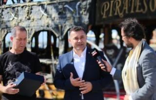 Başkan Yücel TRT'ye Alanya'yı anlattı