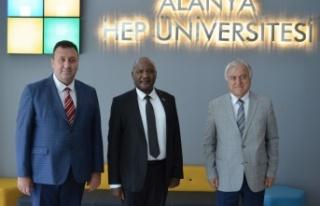 Kenya'nın Ankara Büyükelçisinden Alanya HEP'e...