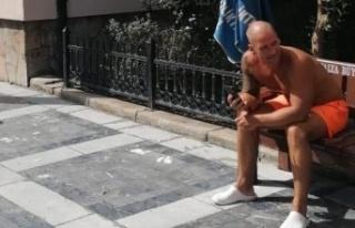 Maskesiz İngiliz turist polise hakaretten gözaltına...