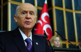 MHP lideri Bahçeli'den 3 Mayıs mesajı