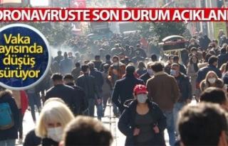 Türkiye'de son 24 saatte 24.733 koronavirüs...