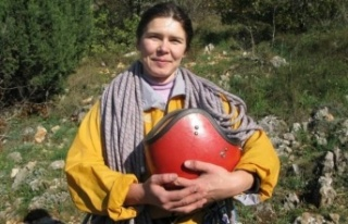 Ukraynalı kadının cesedine ulaşıldı