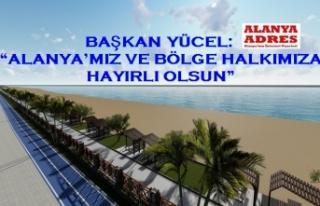Alanya Belediyesi'nden Konaklı-Payallar-Türkler...