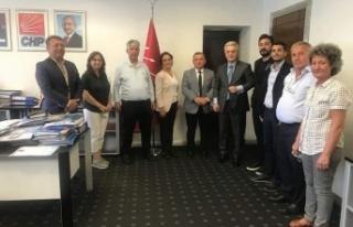 Alanya CHP'den Genel Merkez çıkarması