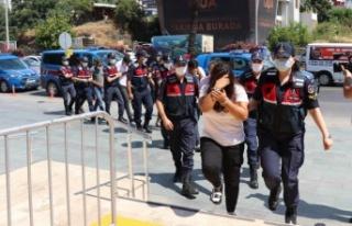 Alanya'da insan tacirlerine operasyonda 6 tutuklama