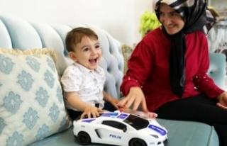 Alanya'da Ahmet Bebeğin parası toplandı