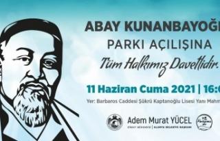 Alanya'da ünlü Kazak şair adına park açılıyor