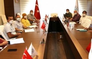 ALKÜ Yönetimi Sendika temsilcileriyle bir araya...