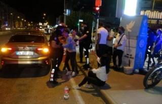 Antalya'da alkollü sürücü 5 araca çarpıp...