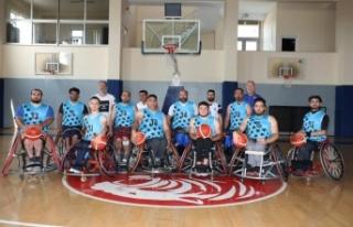ASAT Tekerlekli Sandalye Basketbol Takımı şampiyonasına...
