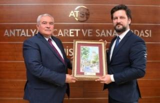 """ATSO Başkanı Çetin: """"Macaristan ile ekonomik..."""