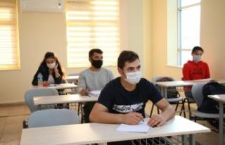 Büyükşehir'in YKS hazırlık kursu kayıtları...
