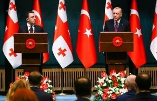 Cumhurbaşkanı Erdoğan: 'Türkiye-Azerbaycan-Gürcistan...