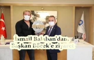 İsmail Balaban'dan, Başkan Böcek'e ziyaret