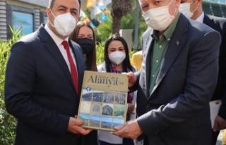 Kalan'dan Erdoğan'a Alanya kitabı