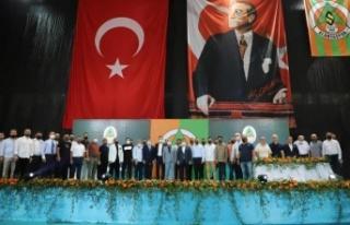Kaymakam Ürkmezer Aytemiz Alanyaspor Kongresi'ne...