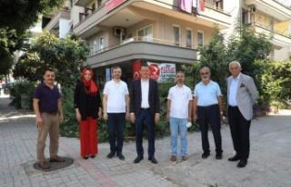 Kaymakam Ürkmezer'den Alanya Kızılay'a...