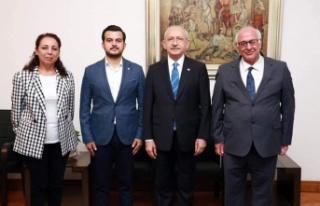Kemal Kılıçdaroğlu Alanya heyetini ağırladı