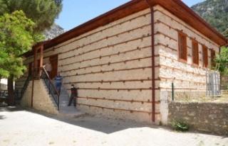 Osmanlı mimarisi düğmeli ev statüsündeki tarihi...