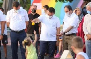Aile dostu ve güvenli park projesi törenle tanıtıldı