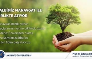 Akdeniz Üniversitesi'nden Manavgat'a 39...