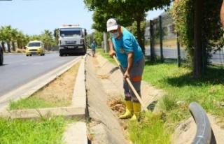 Alanya Belediyesi'nden bayram temizliği