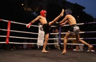 Alanya'da boks ve muaythai gecesi