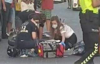 Alanya'da feci kaza! Olay yerinde kalbi durdu