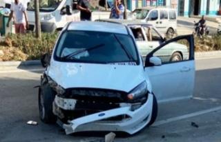 Alanya'da korkutan kaza