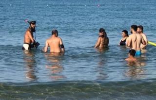 Alanya'da tatilciler gitti, define avcıları...