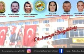 Alanya Hasan Çolak Anadolu Lisesi'ne 6 yeni öğretmen...