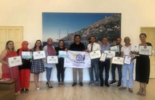 Alanya'da okullara toplam 38 ödül