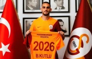 Alanyaspor'lu Berkan Kutlu resmen Galatasaray'da