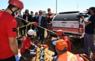 """Antalya'da """"deprem tatbikatı"""" gerçeğini..."""